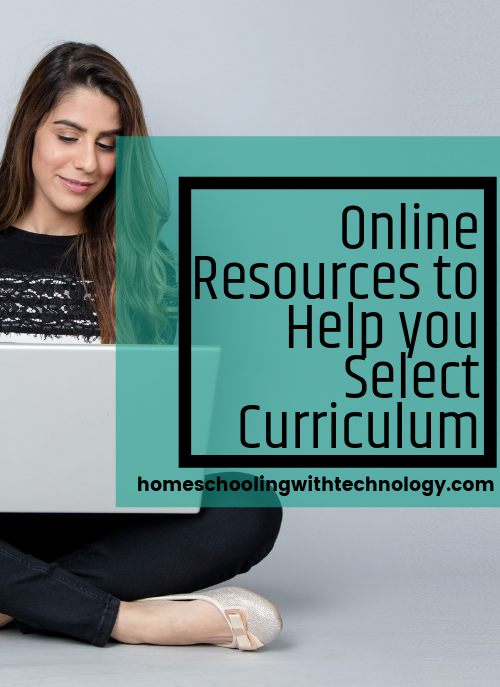 Online resources to help you select curriculum #homeschooling #podcast #selectingcurriculum