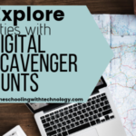 Explore cities with digital scavenger hunts