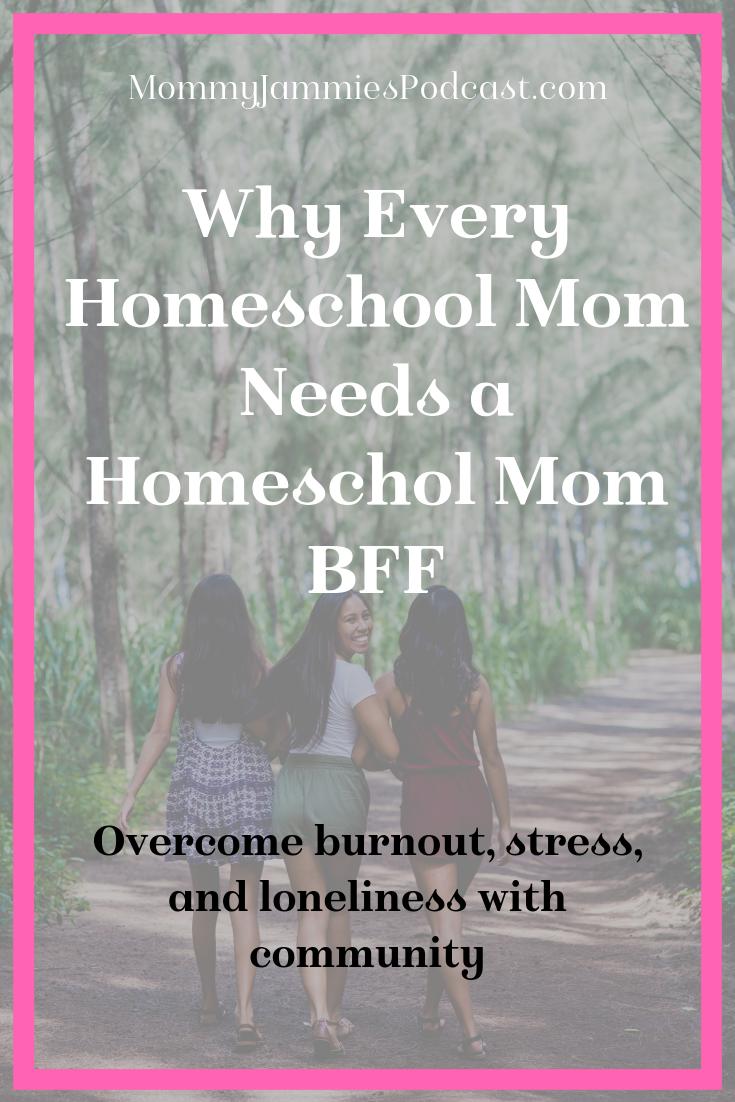homeschool mom needs a homeschool mom bff