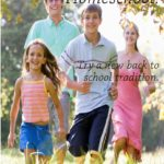 Back To Homeschool | Try a new back to homeschool tradition this year! | #backtoschool #homeschool
