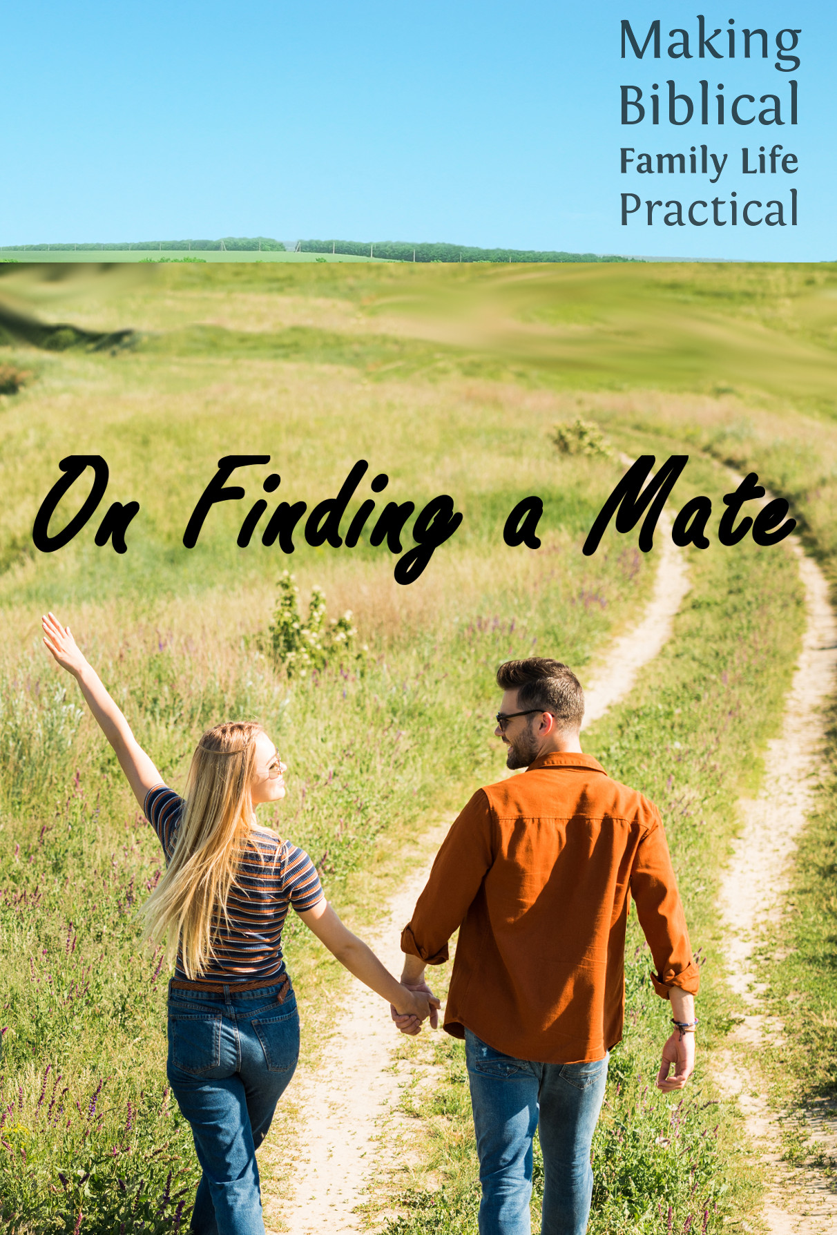 Some thoughts and advice about finding a mate ...