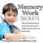Memory Work | Is memory work necessary? In my teaching life and as a homeschooler I wasn't positive that memory work was a must. With my first two children, it wasn't but then with my last three homeschooling students, it became part of the fabric of our homeschooler. | #podcast #homeschoolpodcast #memorywork