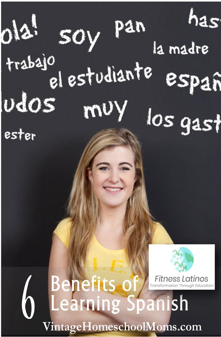 Learning Spanish | With a passion for speaking Spanish, and experience as a homeschool mom, Alba Alonso shares the benefits of learning Spanish. You will be surprised at the innovation she uses and she explains more of this in this episode! | #podcast #homeschoolpodcast #fitnesslatinos #foreignlanguage