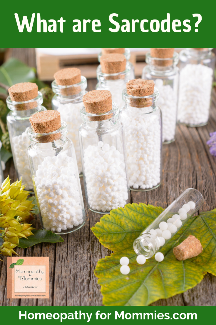 What Are Sarcodes? Homeopathy For Mommies podcast