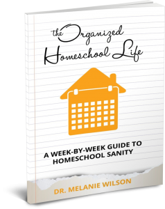 Guide for homeschool moms to being organized in their homes and schools.