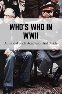 World War Two Unit Study Guide
