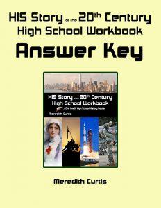 HIS Story of the 20th Century High School Workbook Answer Key
