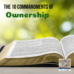 Ownership & the 10 Commandments