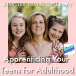 HSHSP Ep 183: Apprenticing Your Teens for Adulthood, Interview with Susan Landry How to find balance between being a helicopter mom and a let-them-go mom. Join Vicki and our friend, Susan Landry of The Sparrow's Home on the joys of mentoring homeschool high schoolers!