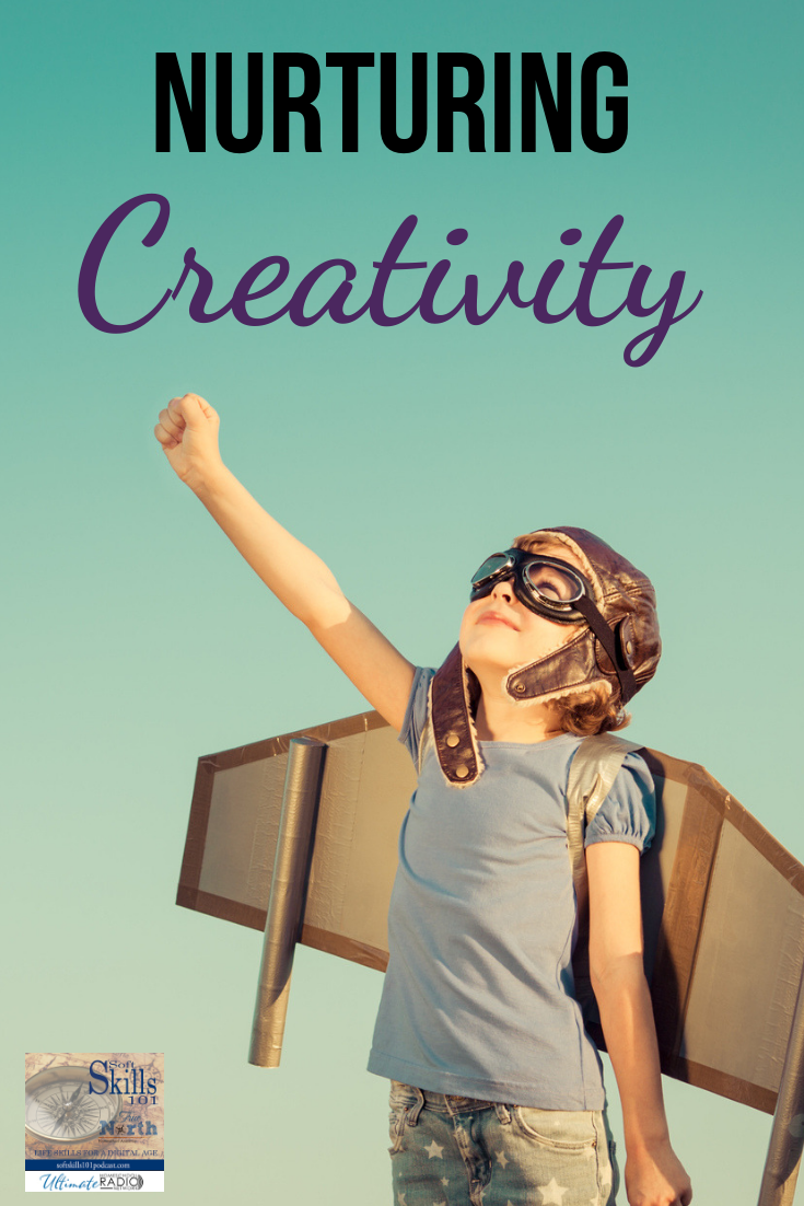 This week I am excited to introduce to you Katie Hornor. Listen in as Katie shares how to  nurture and teach creativity!