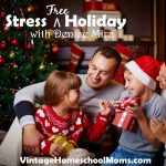 Stress Free Holiday | Are you ready for a stress-free holiday? With Thanksgiving, Christmas and even birthdays and all of the fun events that happen in full family life! The stress begins to mount. Join Felice Gerwitz and her friend, Denise Mira, you will learn so many insider's tips! | #homeschoolpodcast @podcast #denisemira