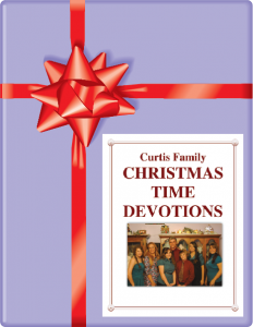 Christmas Devotions by Meredith Curtis