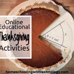 Online Educational Thanksgiving Activities