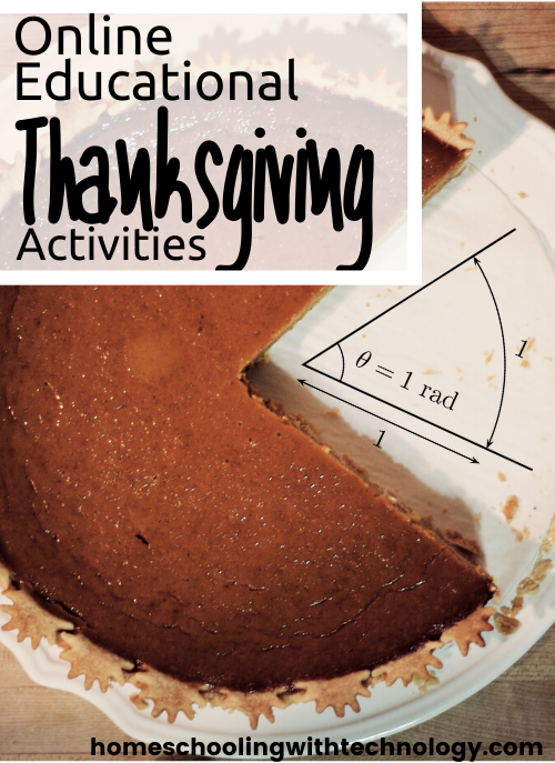 Online Educational Thanksgiving Activities #thanksgiving #podcast #homeschooling