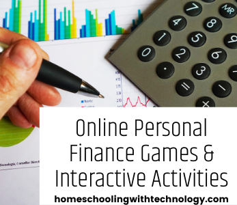 Online Personal Finance Games and Interactive Activities