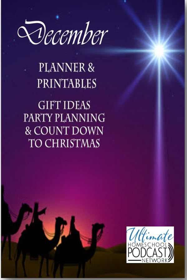FREE December Planner and Christmas Countdown Printables
