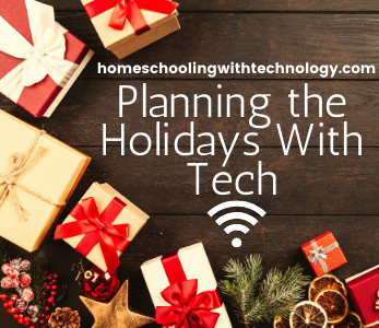Planning the holidays with tech
