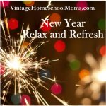New Year – Relax and Refresh
