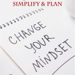FREE Change Your Mindset Simplify and Plan January Family Planner