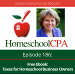 Free Ebook: Taxes for Homeschool Business Owners