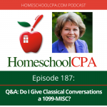 Q&A: Do I Give Classical Conversations a 1099-MISC?