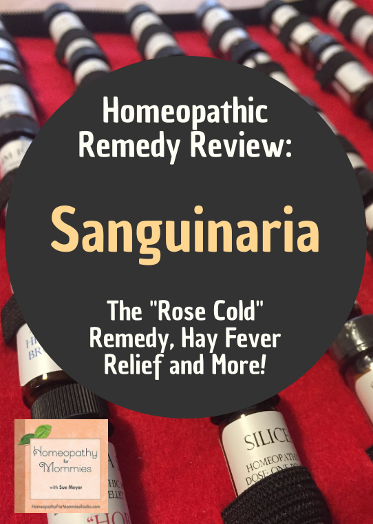 Sanguinaria known as the Rose Cold Remedy. A popular remedy for many acute and chronic ailments.