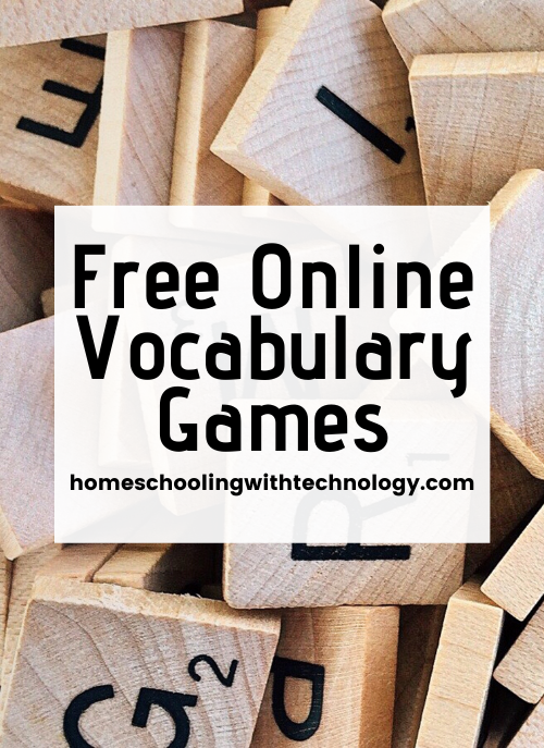 Free Online Vocabulary Games for all ages