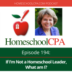 If I'm Not a Homeschool Leader, What am I?