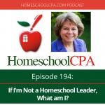If I'm Not a Homeschool Leader, What am I?