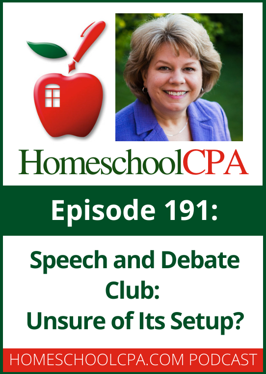 Carol Topp, the Homeschool CPA, is frequently asked by small homeschool groups if they are setup up correctly. Listen to Carol's reply to Henry's questions on today's episode of the Homeschool Leader podcast.