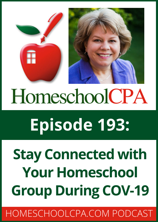 The COVID-19 pandemic and the requirements to practice social distancing has meant that many homeschool groups can no longer meet face-to-face. How can homeschool groups stay connected during this time?