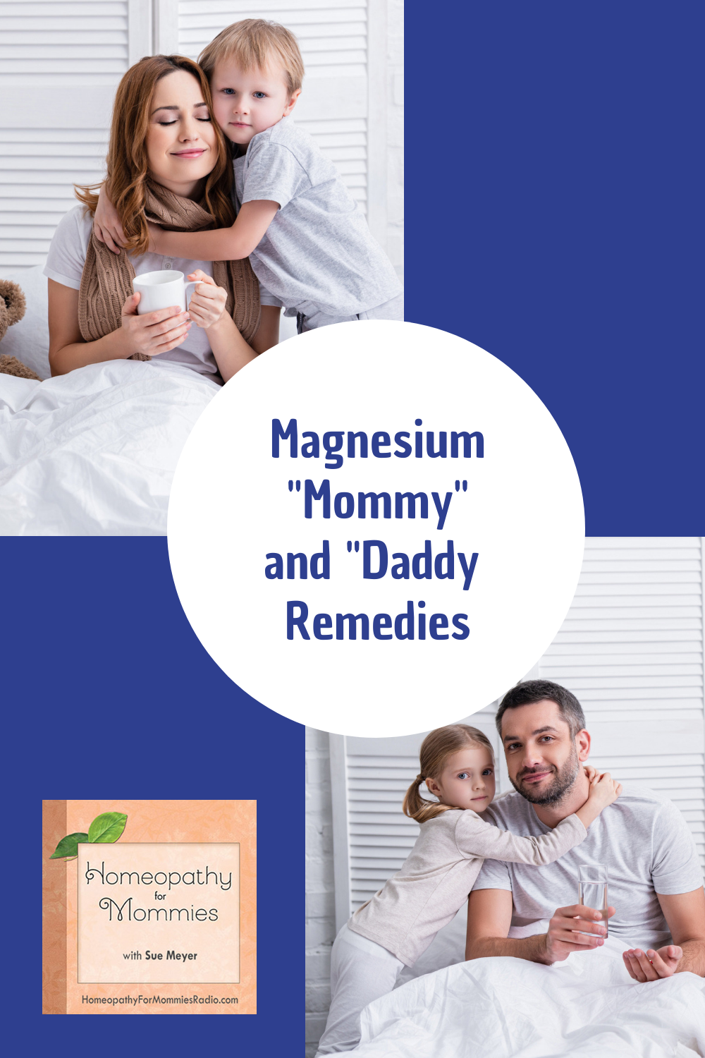 This week on Homeopathy for Mommies Sue Meyer talks about Magnesium Remedies for Abandonment … specifically magnesium muraticum and magnesium carbonicum.