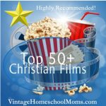 Top 50 Christian Films For Families | In this episode of the top 50 Christian Films, I explore past favorites along with some new and promising film companies who are currently making Christian movies into mainstream theaters. | #podcast #homeschoolpodcast #christianfilms #christianfilmsforfamily #christianfilmsforfamilies #filmsforfamilies #christian #christiancontent #ChristianKids #Top50ChristianFilms