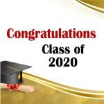"Congratulations Class of 2020 | Are you a 2020 graduate from either high school or college? If so, congratulations class of 2020! You did it. You accomplished something wonderful and I am joining your family to say, ""Well done!"" Now comes the fun part...