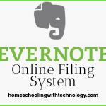 Evernote Online Filing System