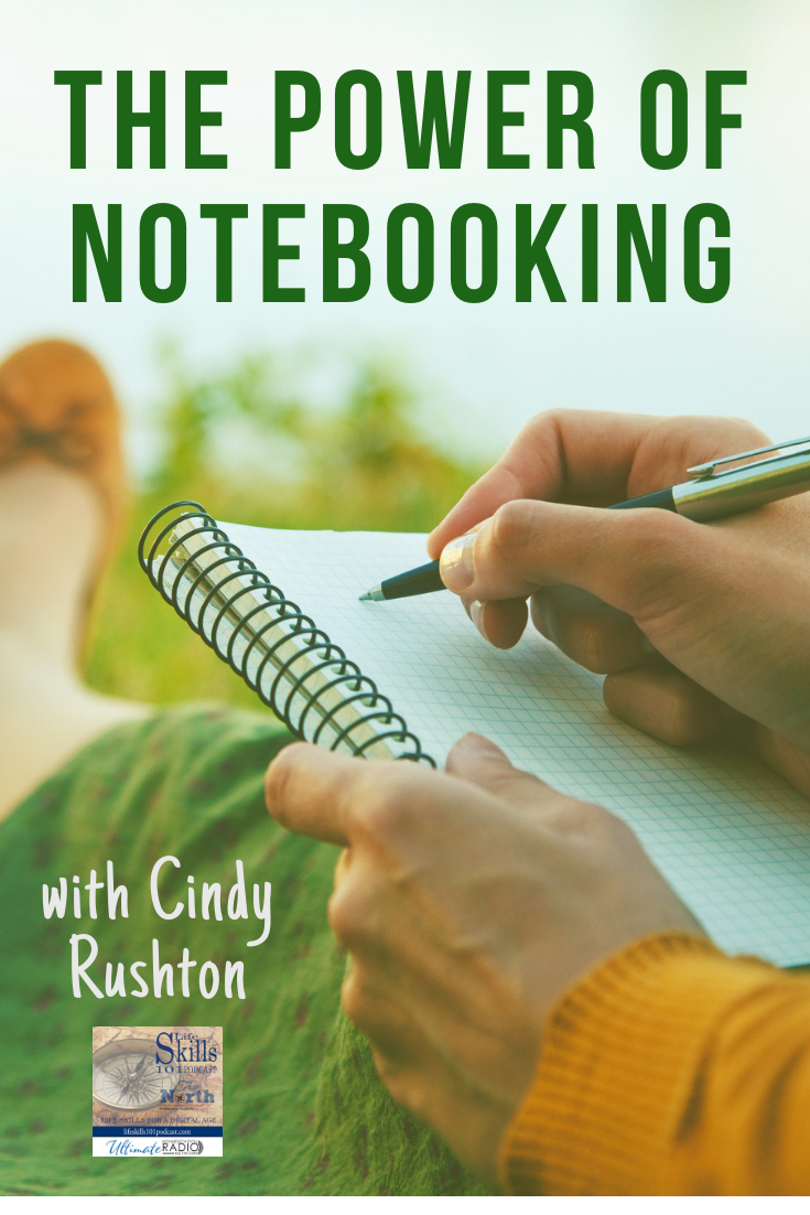 Join Life Skills 101 and Cindy Rushton as we talk about notebooking!