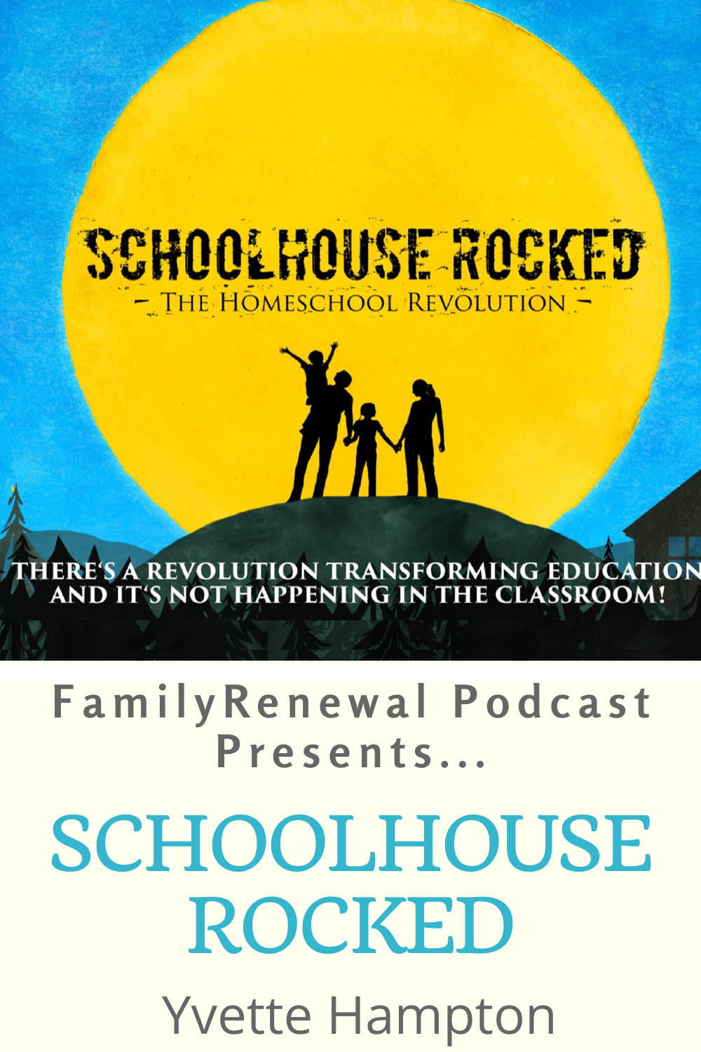 In this episode, Israel Wayne interviews Yvette Hampton of Schoolhouse Rocked, a new documentary forced on education. Garritt & Yvette Hampton are homeschooling parents and filmmakers who have a desire to help parents find the best path for educating their children.