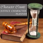FREE Character Counts Justice Planner