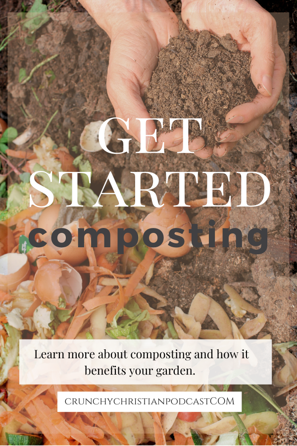 Join Julie Polanco on this episode of Crunchy Christian Podcast as she shares how to start composting.