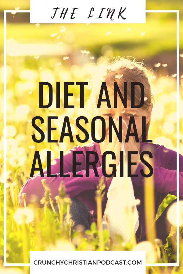 Join Julie Polanco on this episode of Crunchy Christian Podcast as she shares her personal story and lessons about the link between diet and seasonal allergies.
