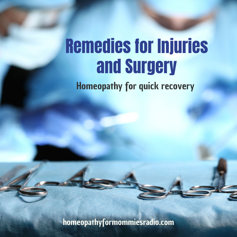 Remedies for Injuries and Surgery – Homeopathy for Quick Recovery