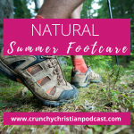 Natural Summer Foot Care