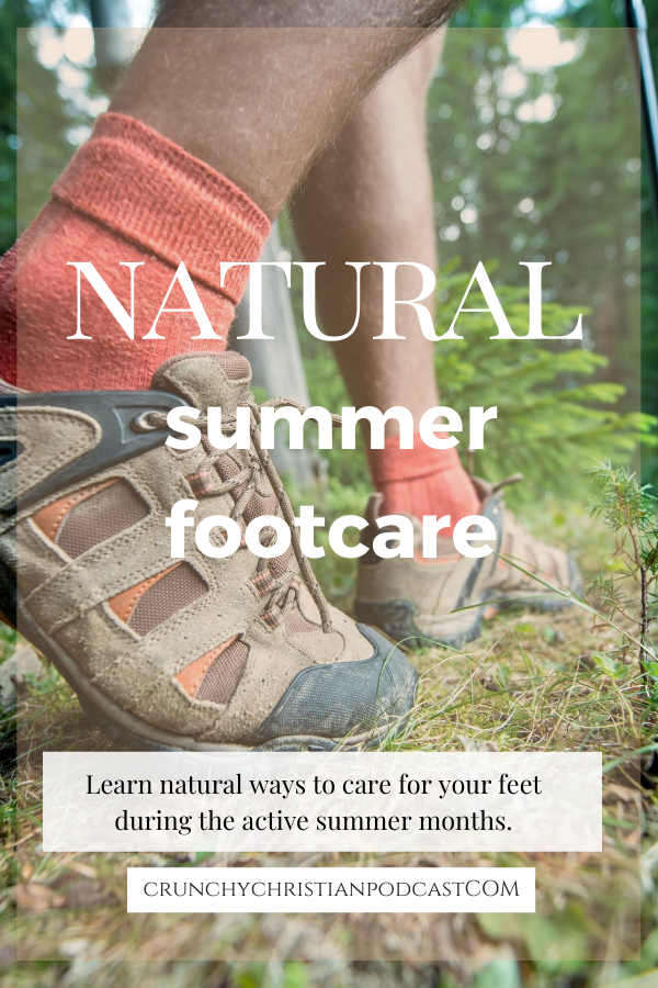 Learn natural ways to care for your feet during the active summer months.