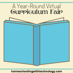 A year-round virtual curriculum fair for homeschoolers