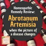 Abrotanum Artemisia – When the Symptoms Have Changed