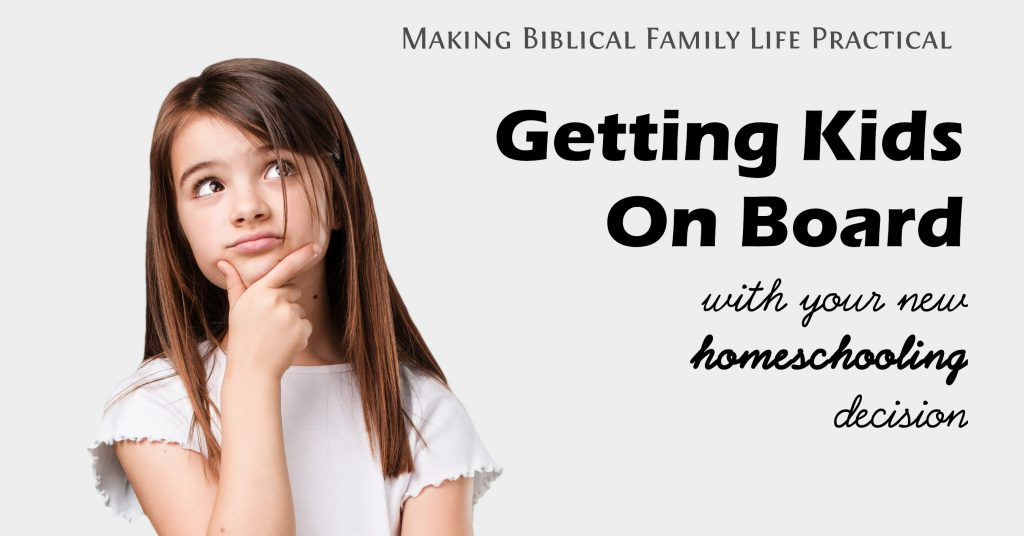 New to homeschooling, and maybe your kid's not thrilled yet?