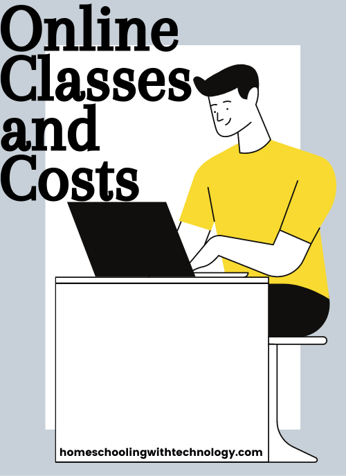 Online classes and costs #homeschoolonline #homeschooling
