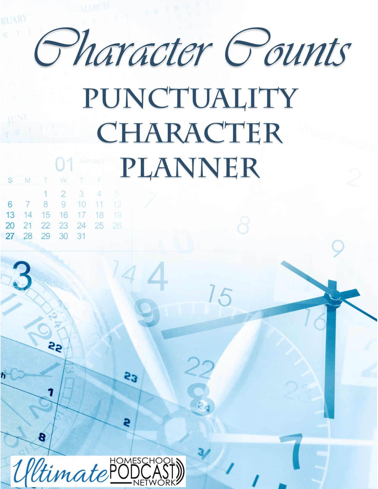 FREE Character Counts Punctuality Character Planner
