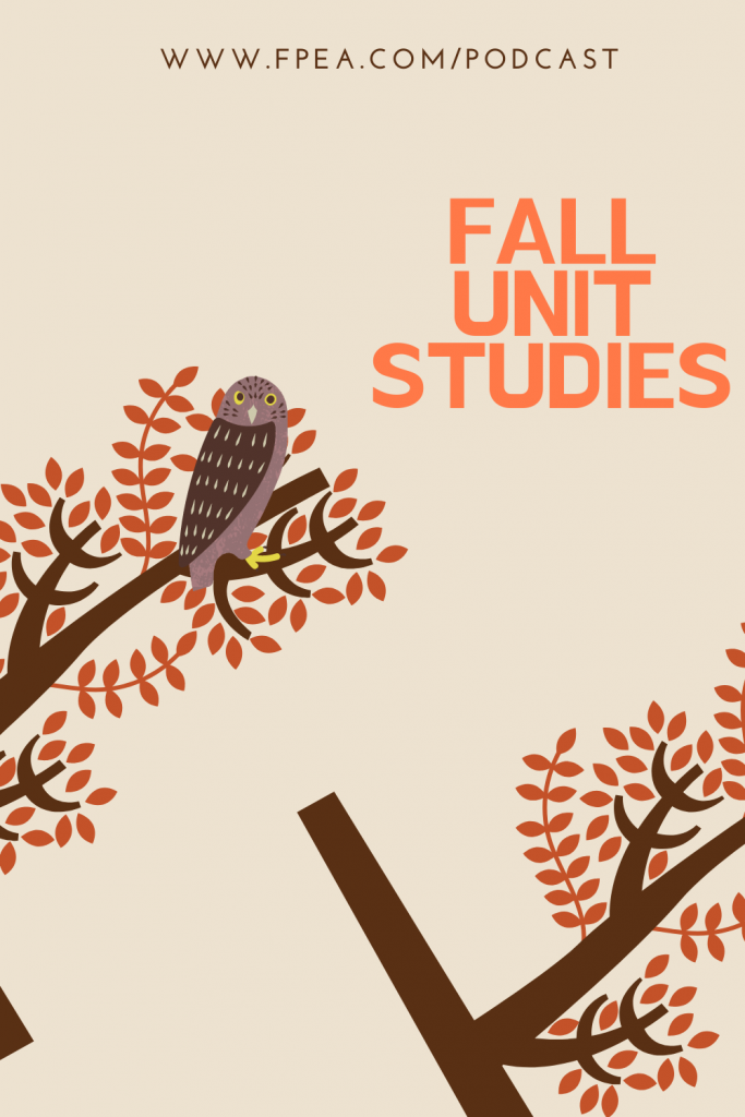 Fall Unit Studies