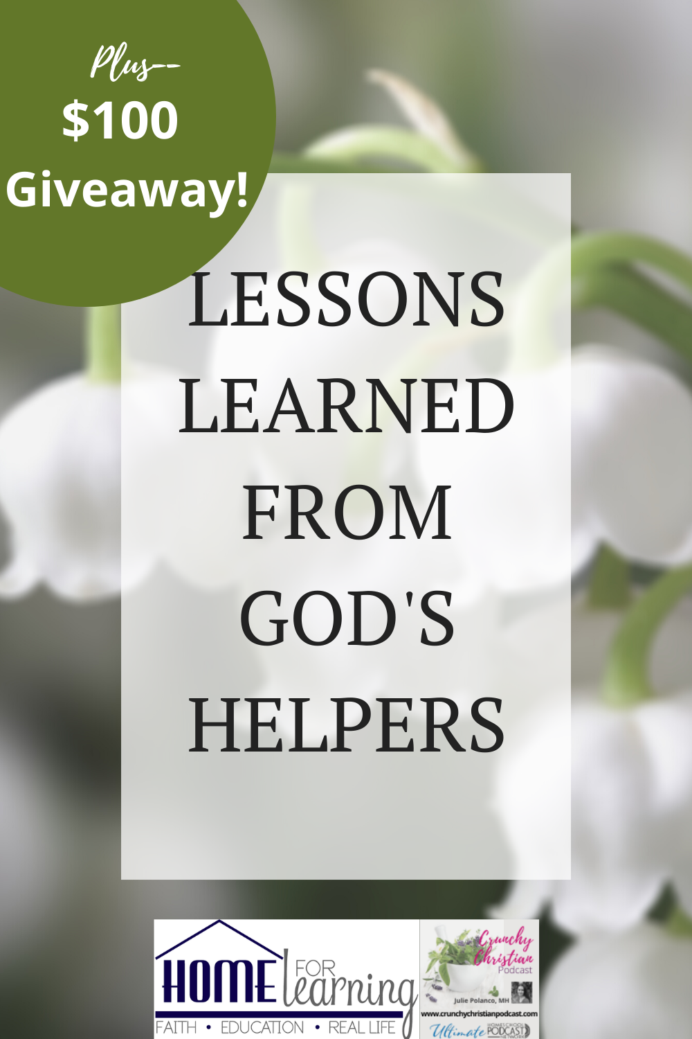Lessons Learned from God's Plant Helpers plus $100 Giveaway.
